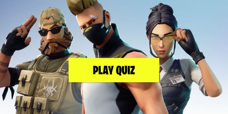Fortnite Quiz #1