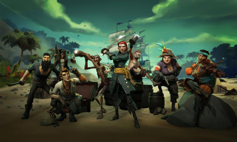 Set sail for Sea of Thieves release on March 20th