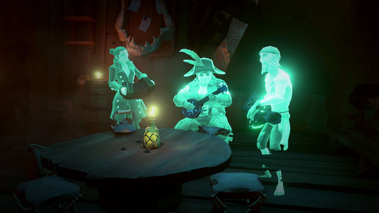 sea of thieves ghosts