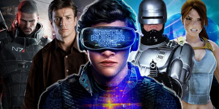 Starcraft in Ready Player One – lots more characters in movie!