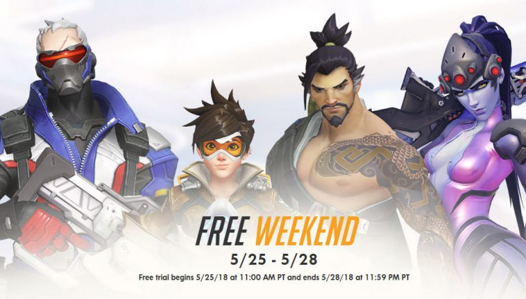 Overwatch Free Weekend incoming